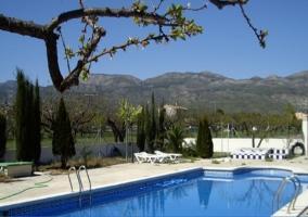 Cabañas azul y verde - Moratalla, Murcia