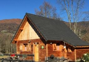 Les Cabanes de Souegnes- Chalet Le Pinson