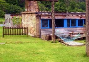 Cabaña Moura - Outes, A Coruña