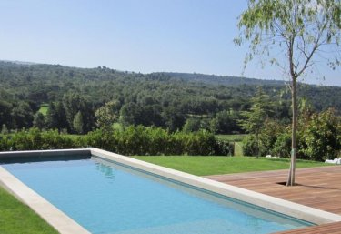 Large swimming pool of the house