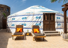Eco Finca de Arrieta- Eco Yurt Royale