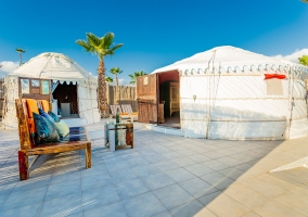 Eco Finca de Arrieta- Eco Chiquitita Yurts