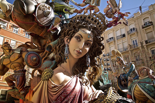 Festivities in Valencia