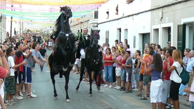 Festivities in Menorca