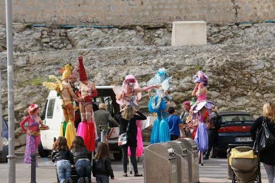 Festivities in Ibiza